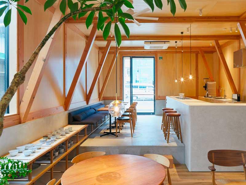 طراحی داخلی کاف شاپ